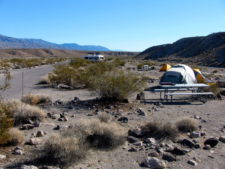 Campgrounds of Mojave Desert (Photos)