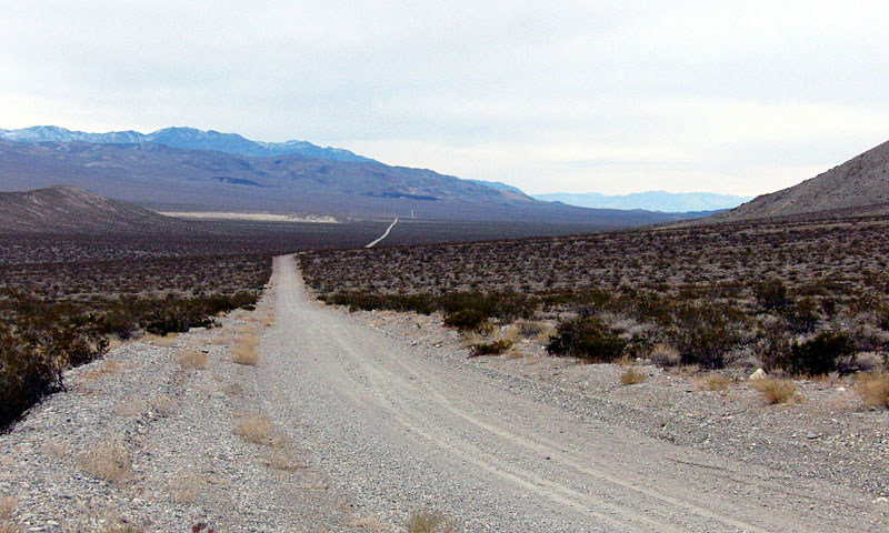 Ubehebe Crater Road | Death Valley Photos
